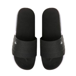 Peak - TAICHI Cooler Summer Breathe Mens Lifestyle Slippers - Black/White