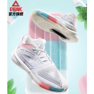 """Peak Andrew Wiggins Triangle """"Glory Golden State"""" Men's High Basketball Shoes - Ice Cream"""