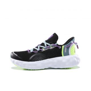Nick Young x Peak AI Taichi R1 Men's Breathable Running Shoes - Black/White