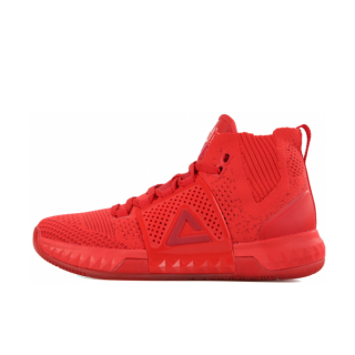 Peak DH3 Mens Streetball Master Basketball Shoes - Red