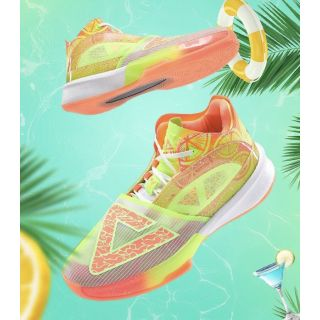 Peak Andrew Wiggins Triangle Men's High Basketball Shoes - Pool party