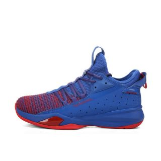 Peak x Tony Parker Speed Shadow Combat Basketball Shoes - Red/Blue