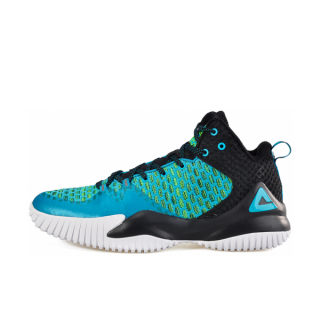 Peak Louis Williams Mens Streetball Master Basketball Shoes - Black/Blue