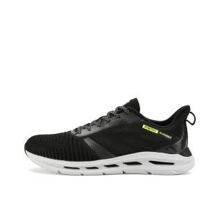 Peak × TAICHI Fun-Running VII Womens Light Running Shoes - Black/White