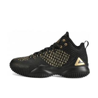 Peak Louis Williams Mens Streetball Master Basketball Shoes - Black/Gold
